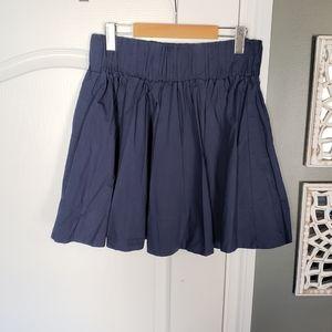 H&M Thick Elastic Waist Flared Skirt
